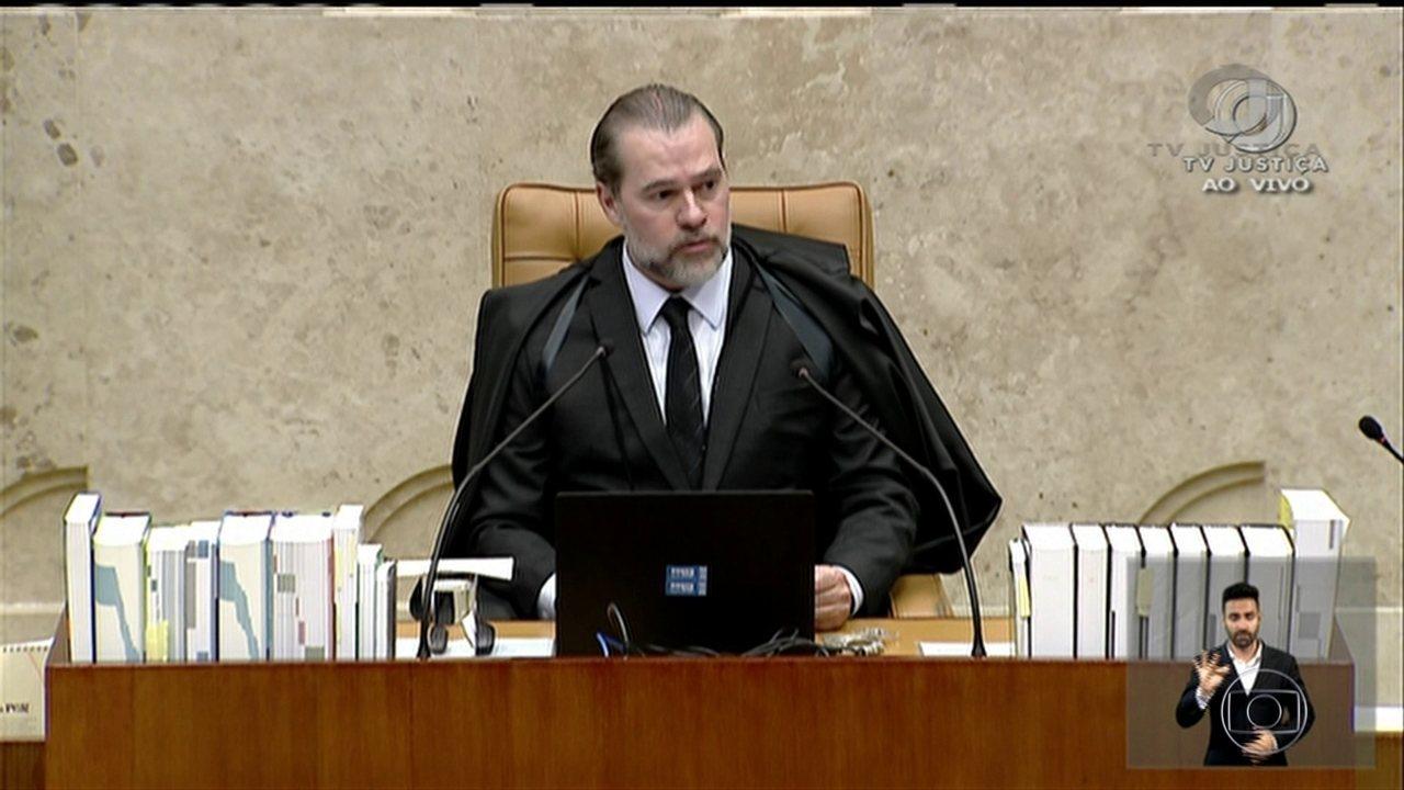 Toffoli abre inquérito para investigar mensagens falsas e ataques ao STF