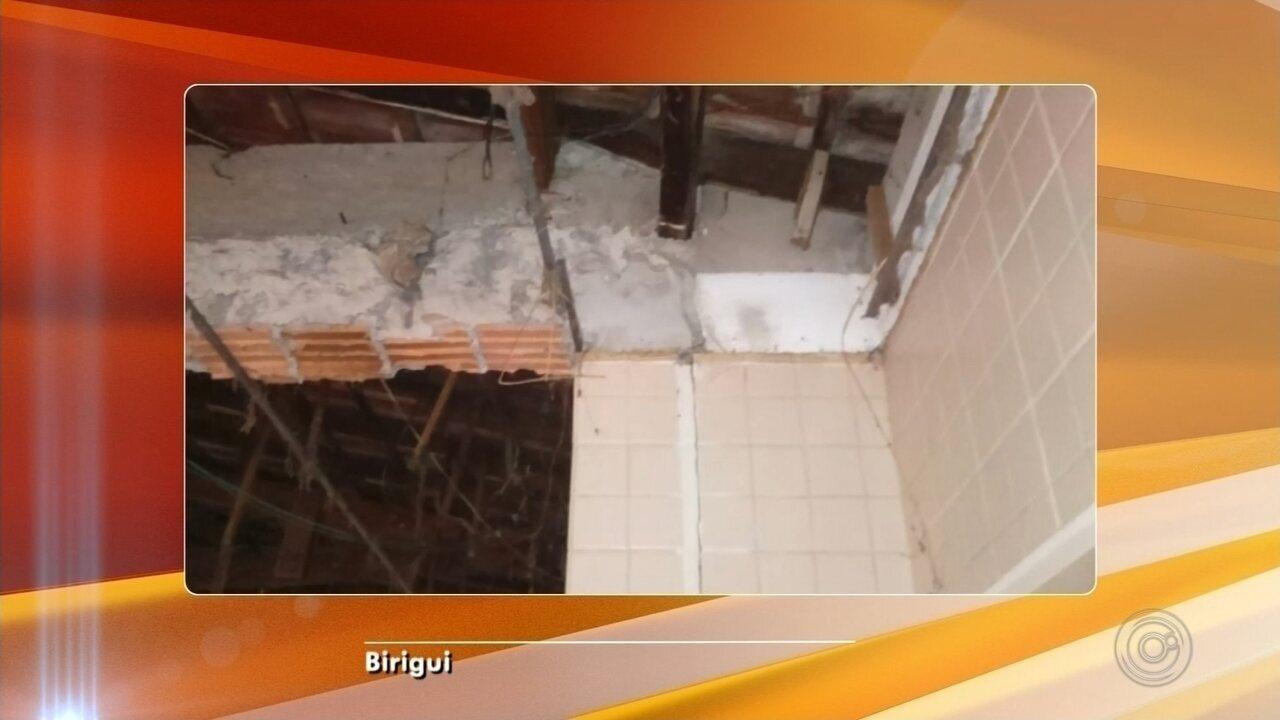 Defesa Civil interdita refeitório de creche em Birigui