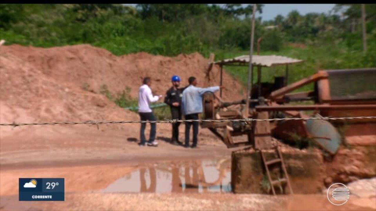 Homem morre em draga no Rio Poti, que não tinha licença para funcionar