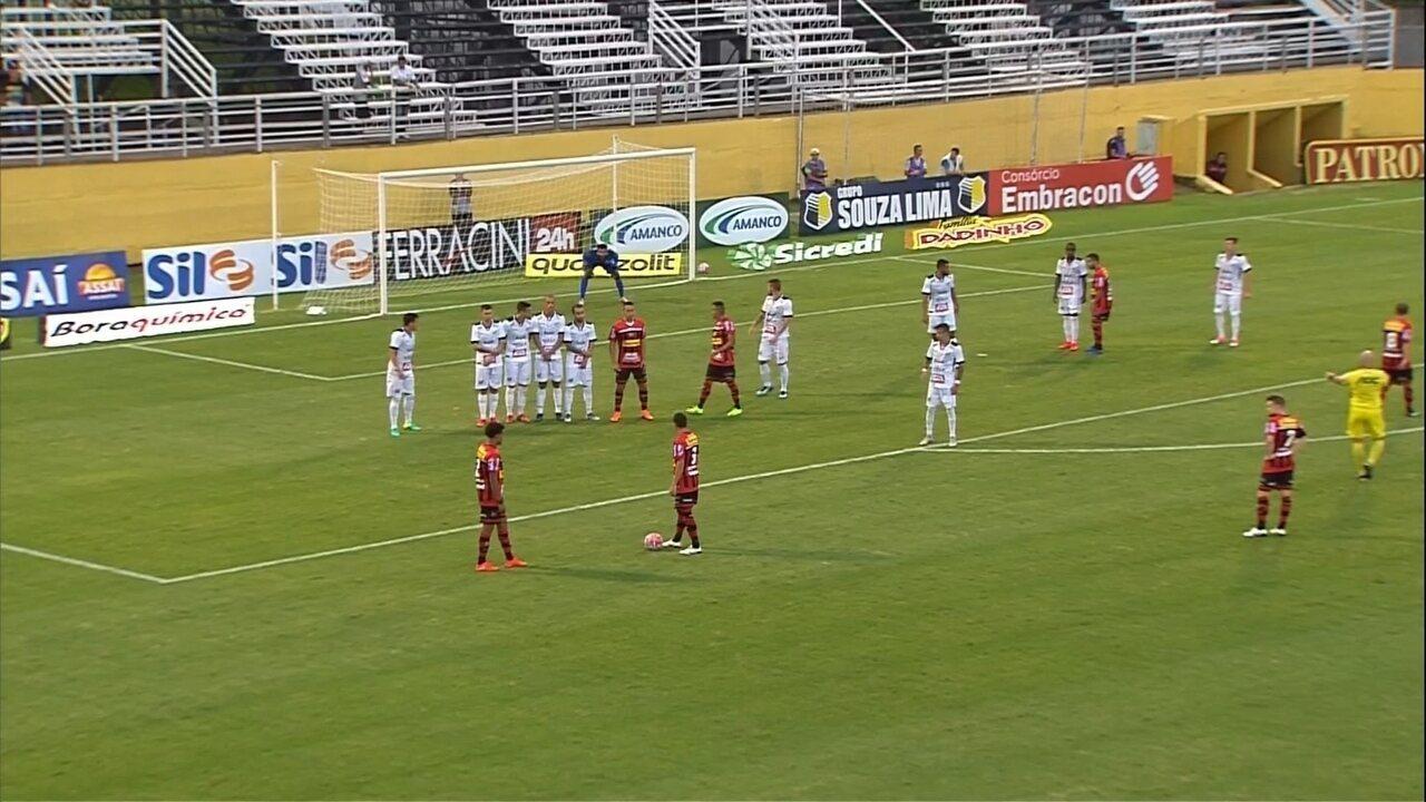Confira os melhores momentos entre Bragantino e Ituano, pelo Campeonato Paulista