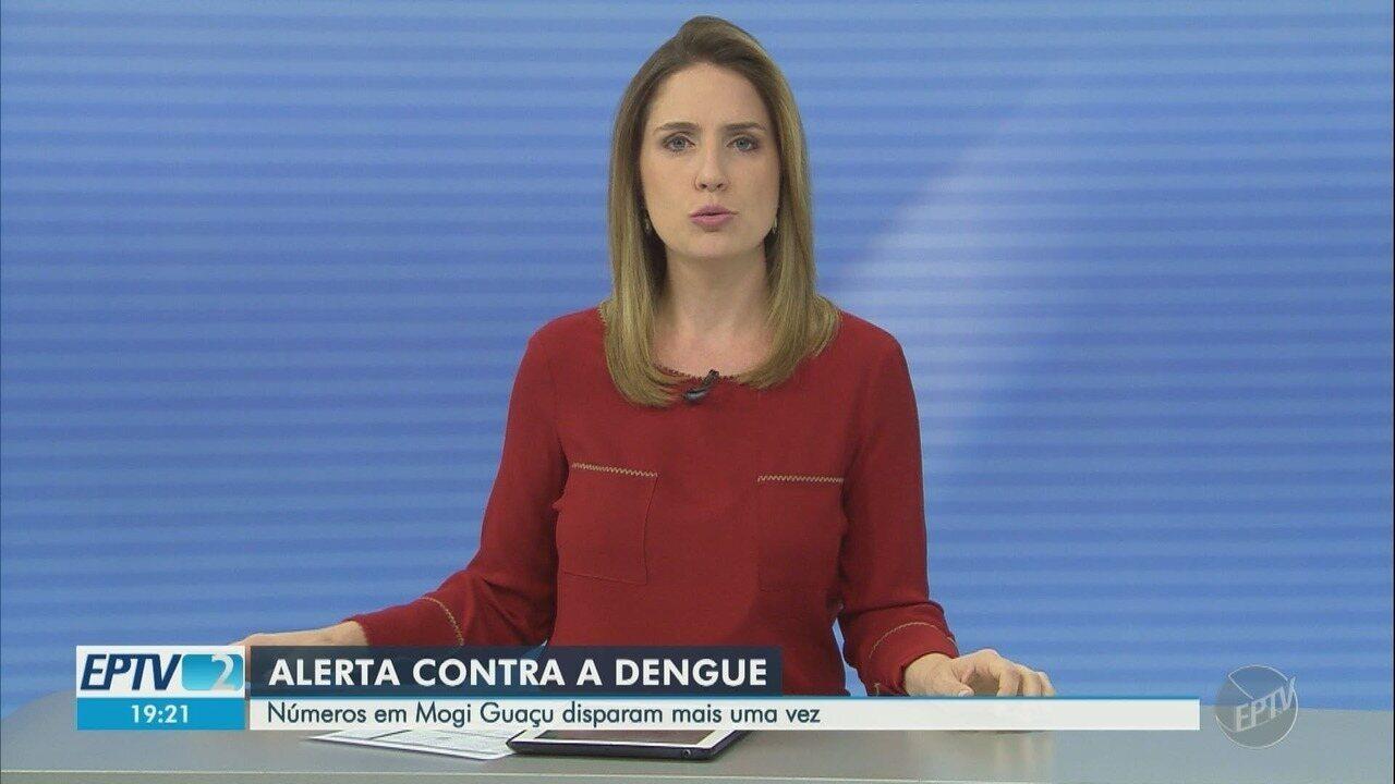 Mogi Guaçu confirma 237 casos confirmados de dengue