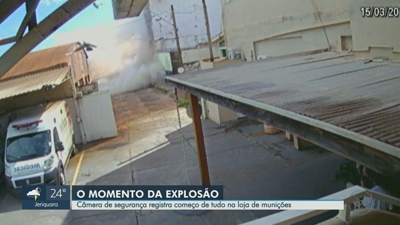 Exército aponta documentação em dia na loja de tiro que explodiu em Ribeirão Preto