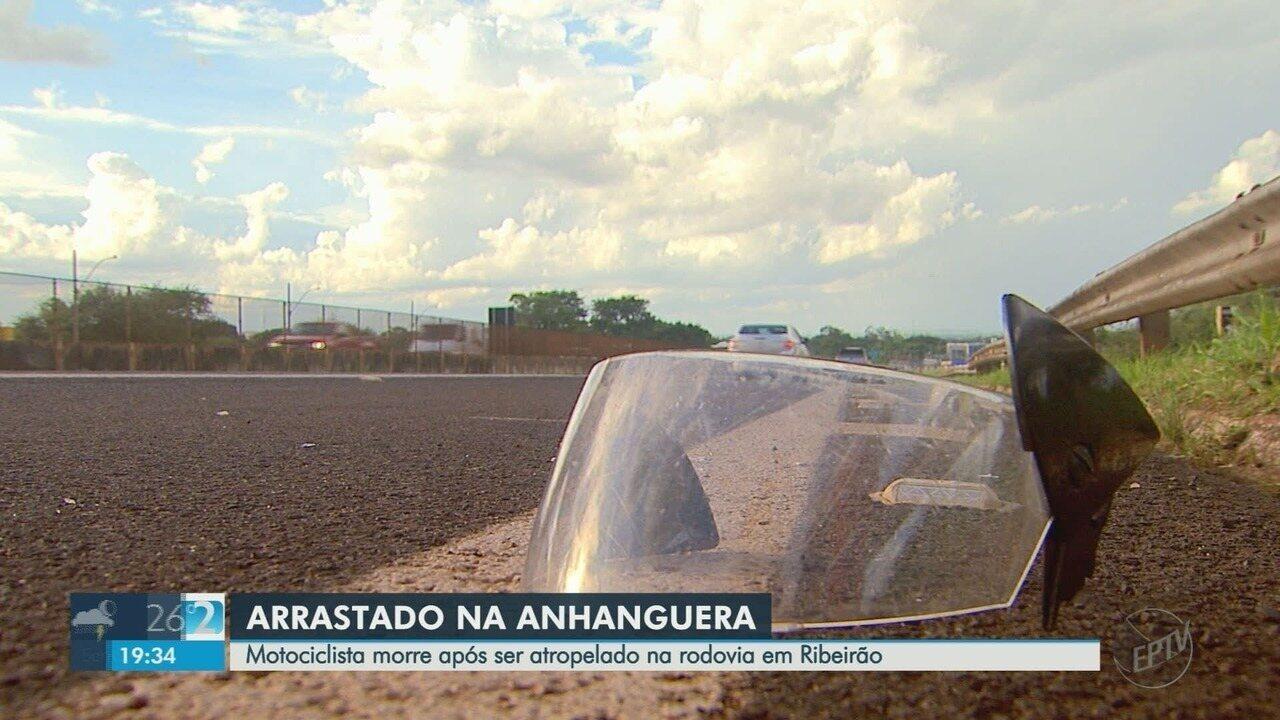 Motociclista morre após ser arrastado por carro em Ribeirão Preto