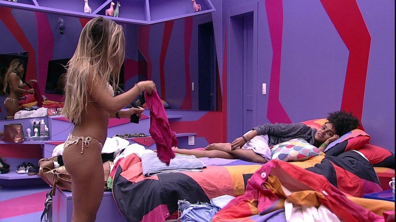 Hariany revela sonho com Alberto: 'Estava discutindo com o gringo'