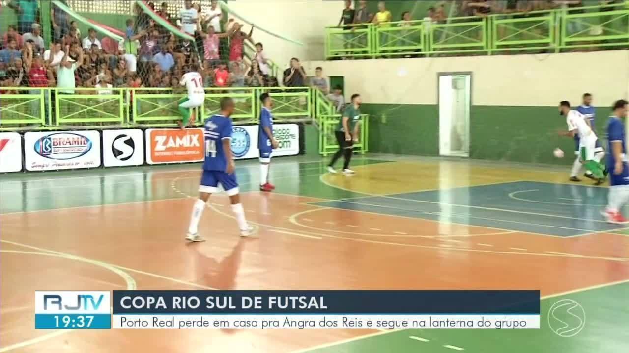 Porto Real perde em casa para Angra dos Reis pela Copa Rio Sul de Futsal