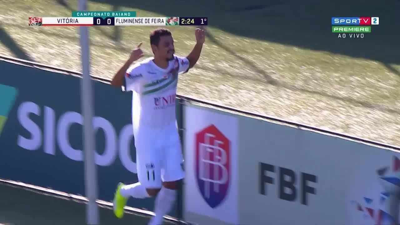 Veja gol de Deysinho na partida contra o Vitória