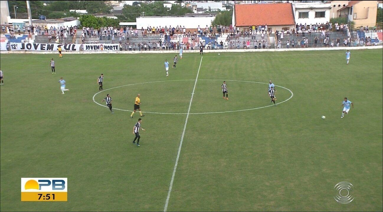 Veja como foi o empate em 1 a 1 entre Treze e Perilima