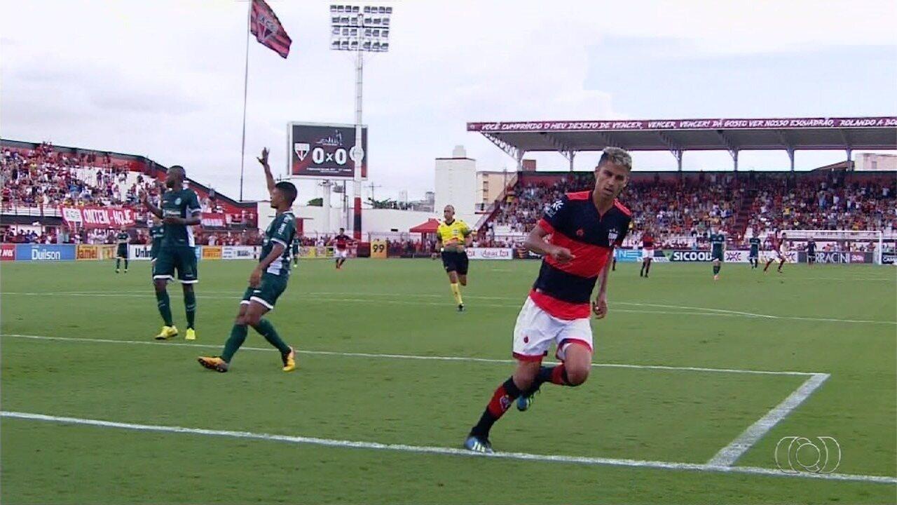 Atlético-GO vence clássico e quebra invencibilidade do Goiás