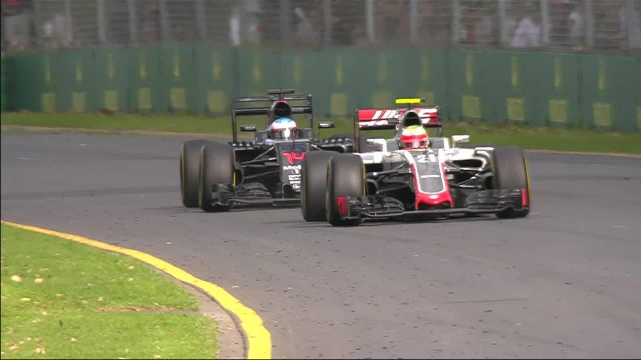 Fernando Alonso sofreu grave acidente no GP da Austrália de 2016