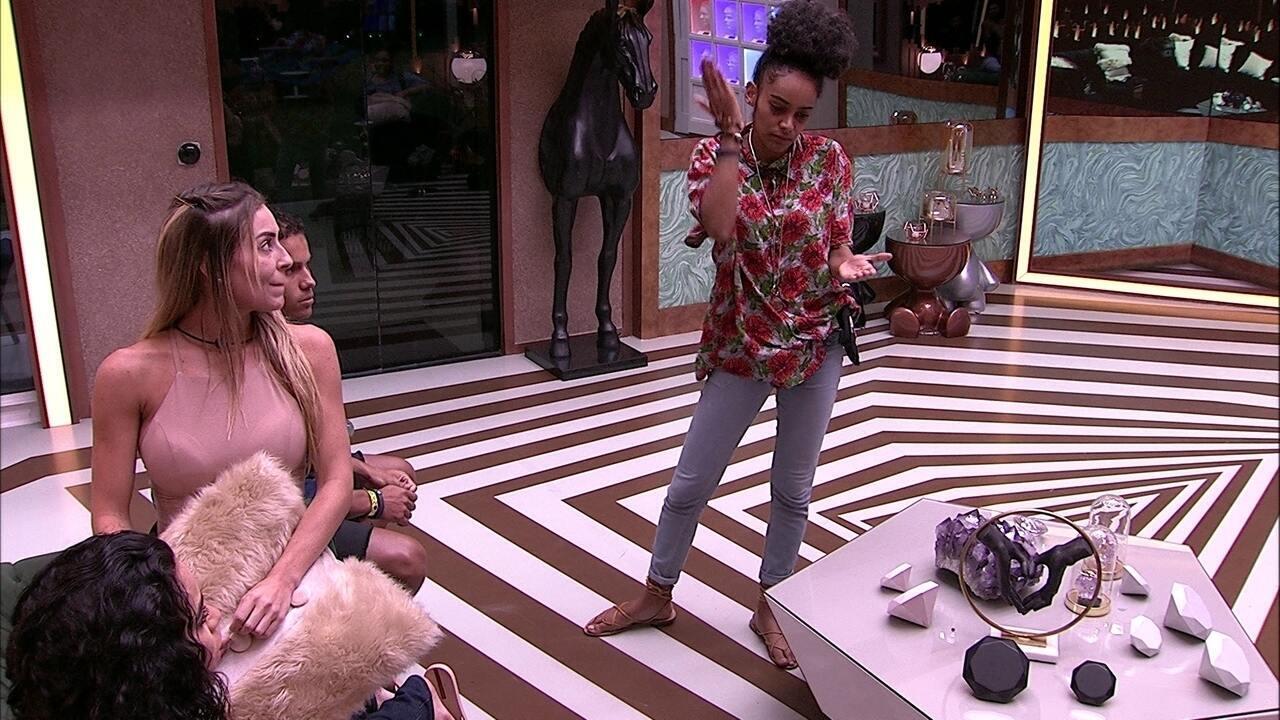 Gabriela diz que vai ser direta e avisa após o Jogo da Discórdia: 'Eu amo vocês, mas dói'
