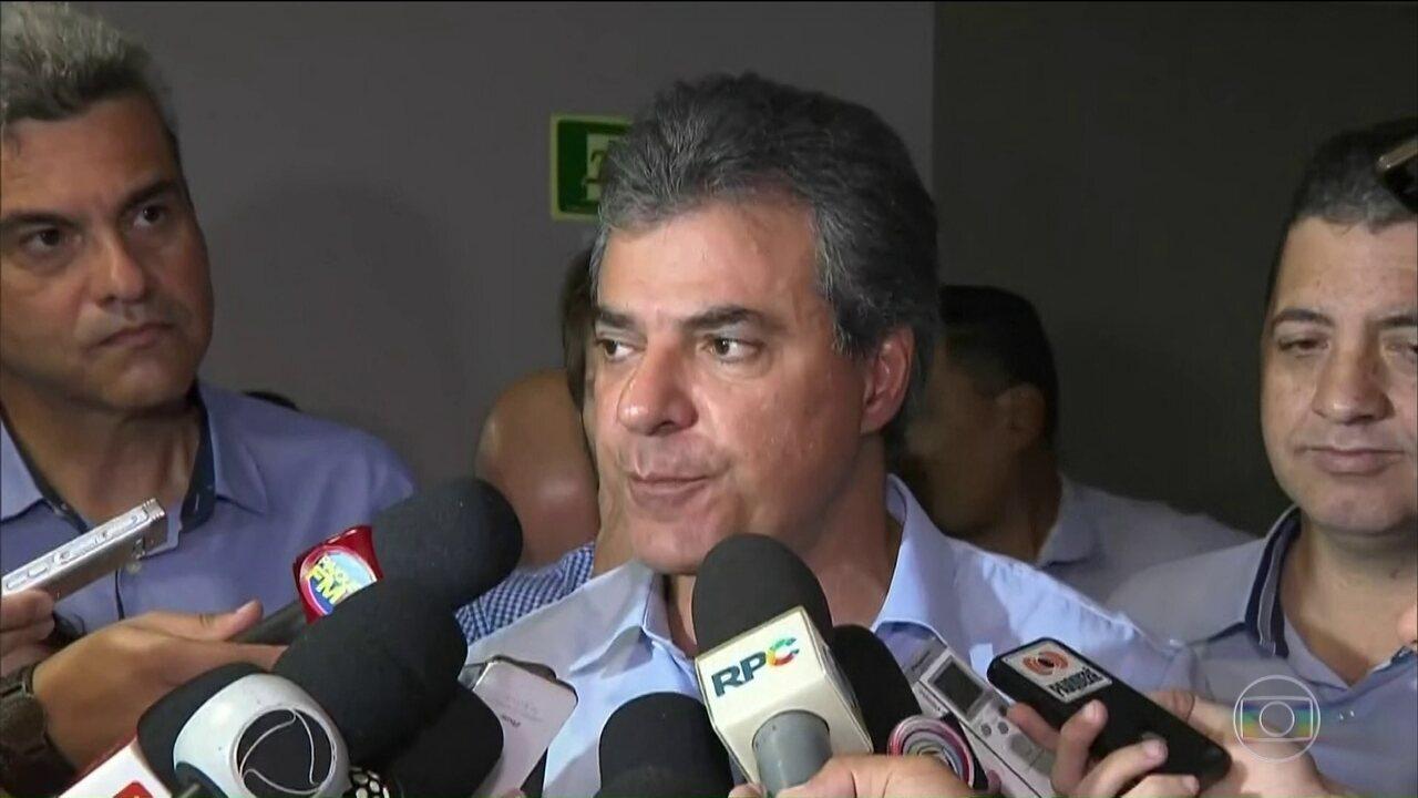 Ex-governador do Paraná Beto Richa é preso pela 3ª vez