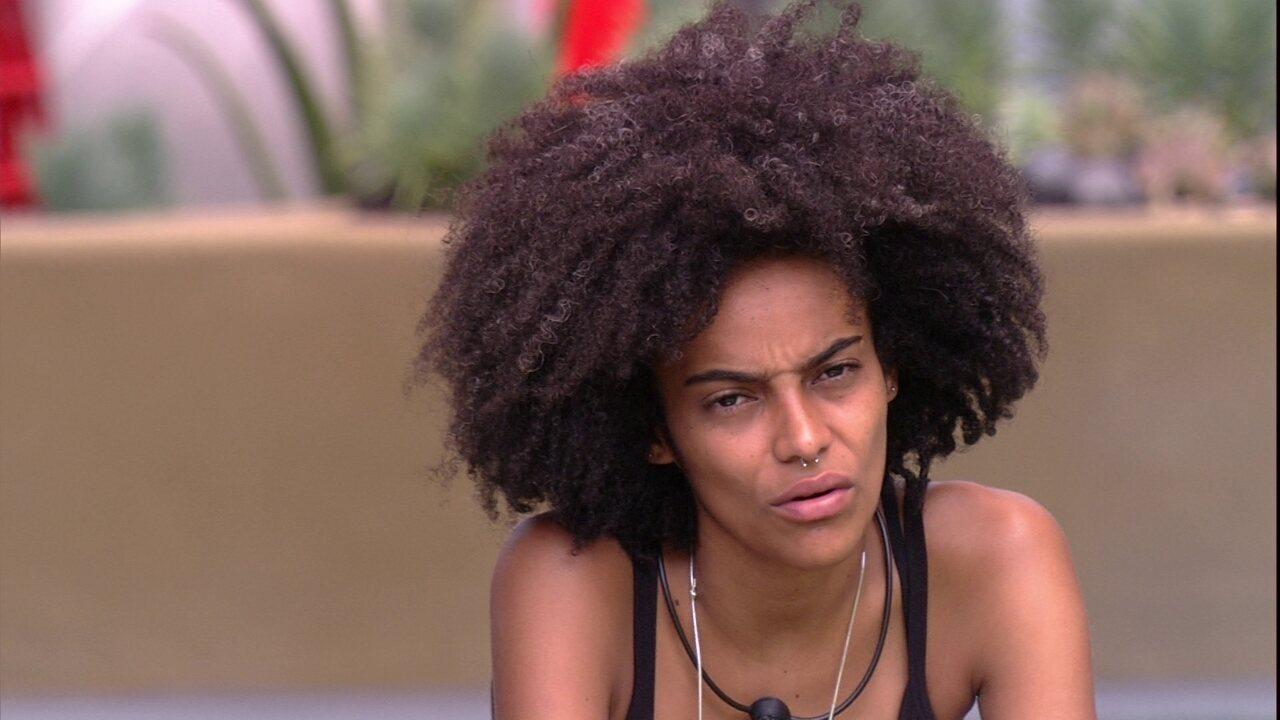 Gabriela declara sobre si mesma: 'Sabia que ia confundir as emoções'