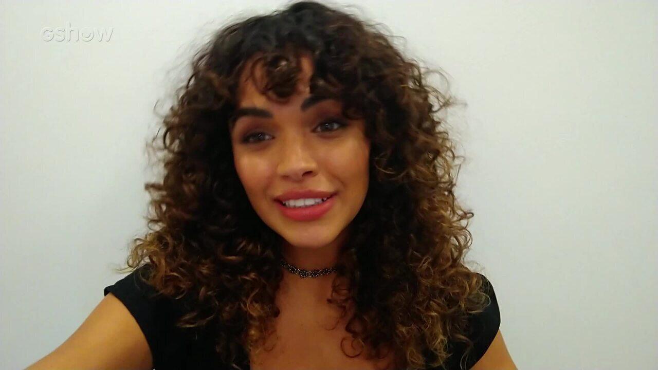 Giovana Cordeiro faz depoimento para Beto Barbosa