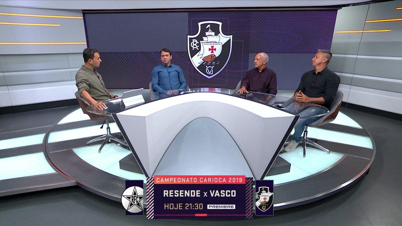 Comentaristas analisam as críticas sobre Alberto Valentim no Vasco