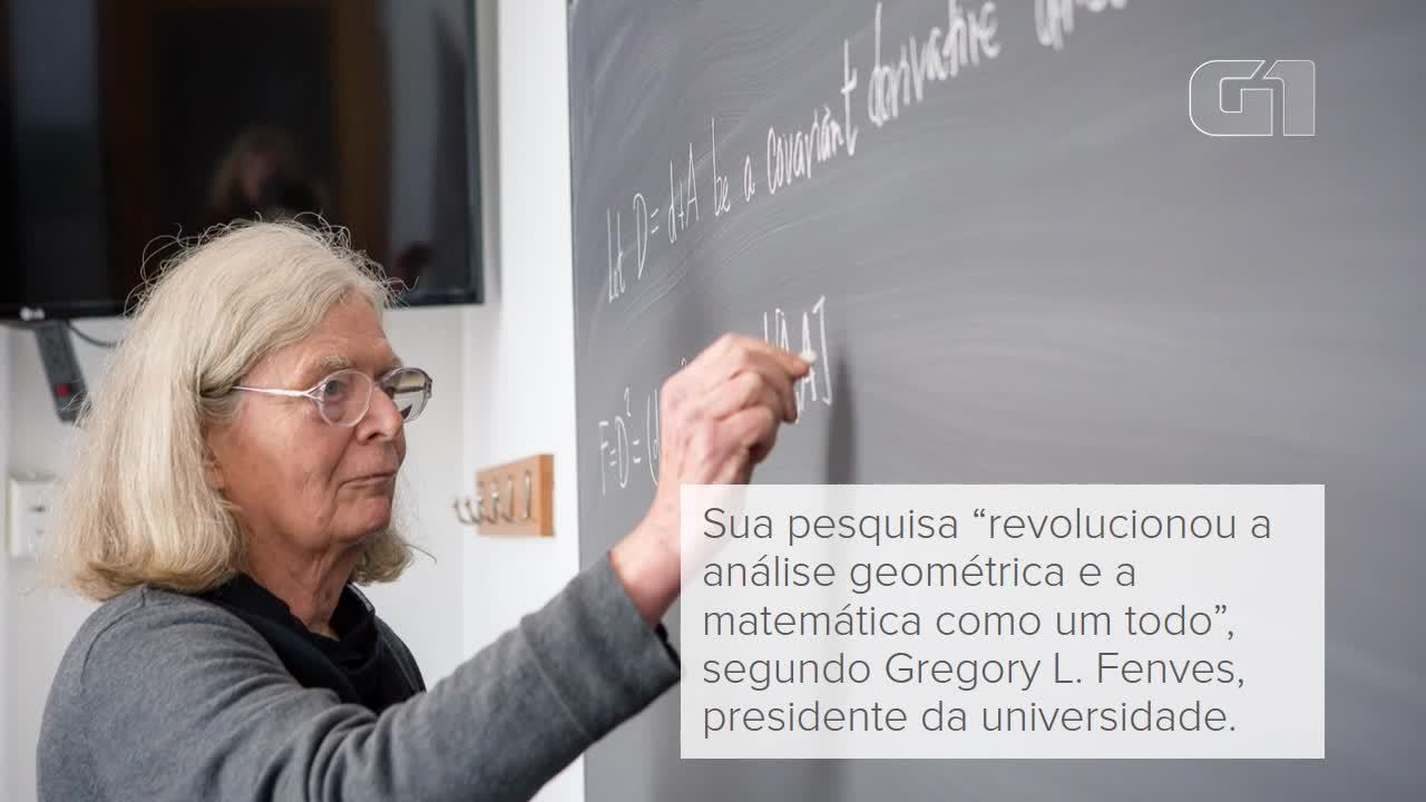 Pioneira da análise geométrica é a primeira mulher a receber prêmio mundial de matemática