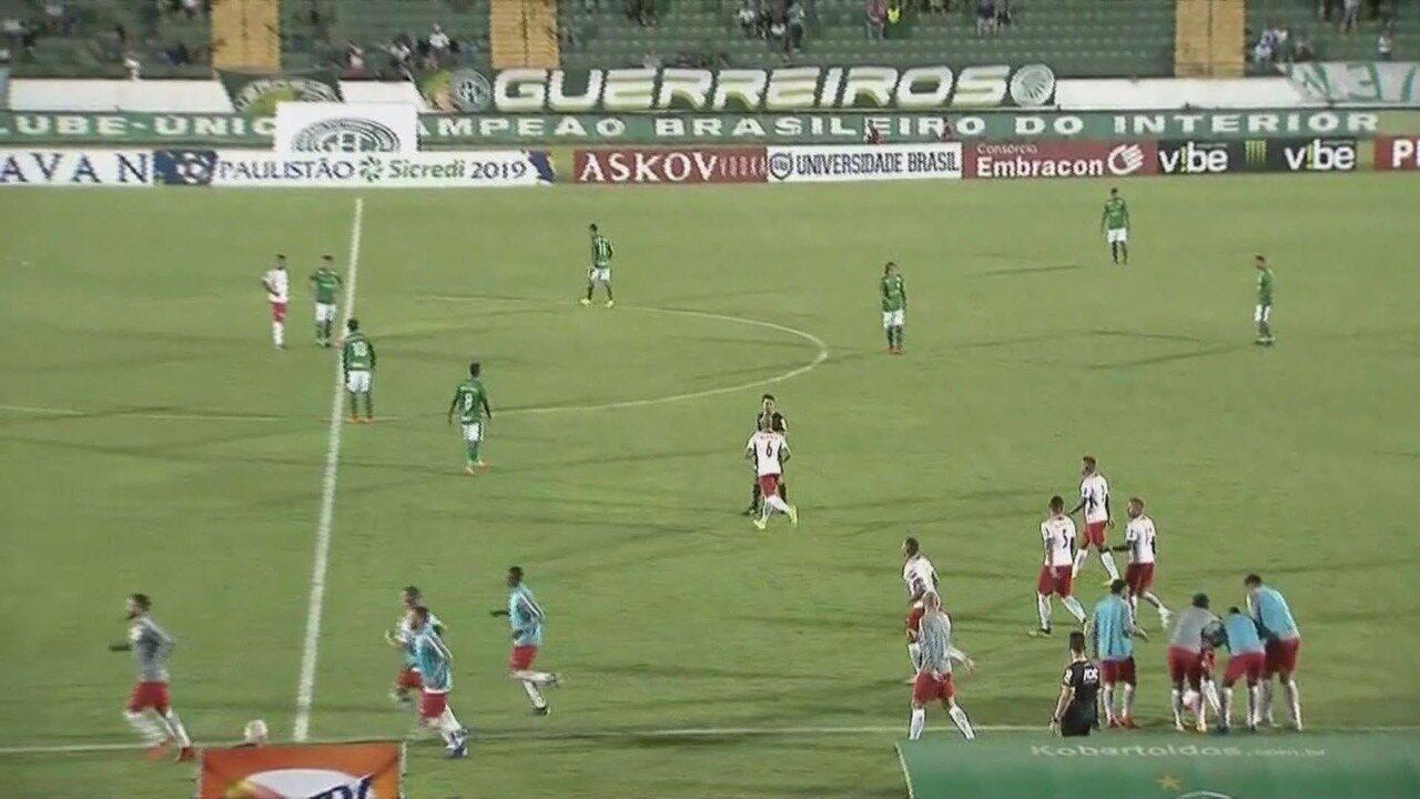 Os melhores momentos de Guarani 1x2 RB Brasil, pela 12ª rodada do Campeonato Paulista