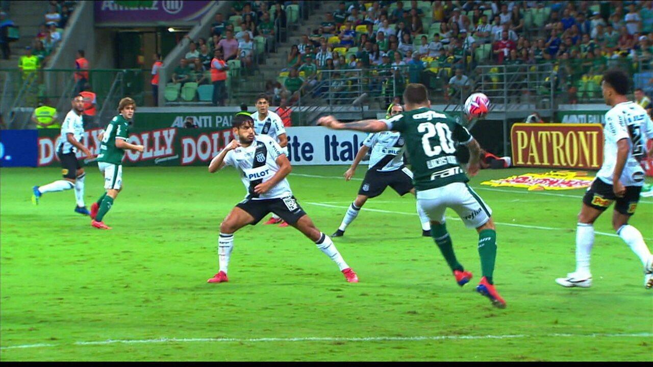 Melhores momentos de Palmeiras 1 x 0 Ponte Preta pela 12ª rodada do Campeonato Paulista 2019