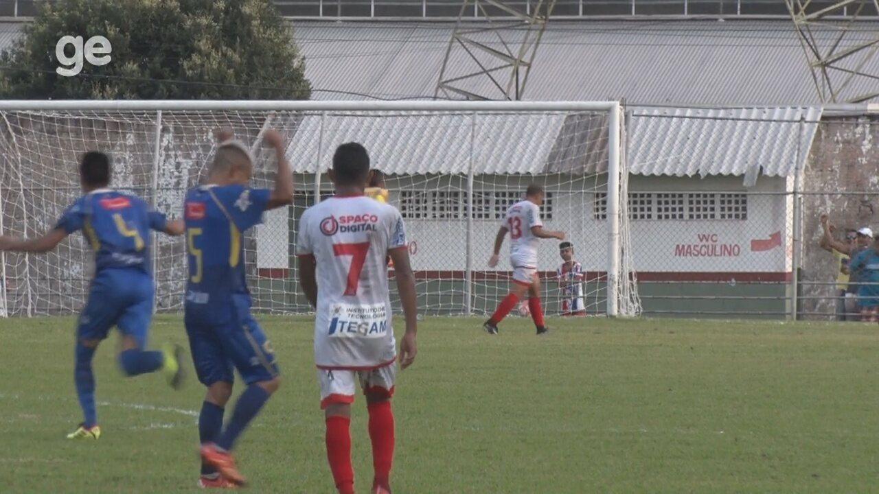Branco faz jogada individual e marca o segundo gol do Penarol