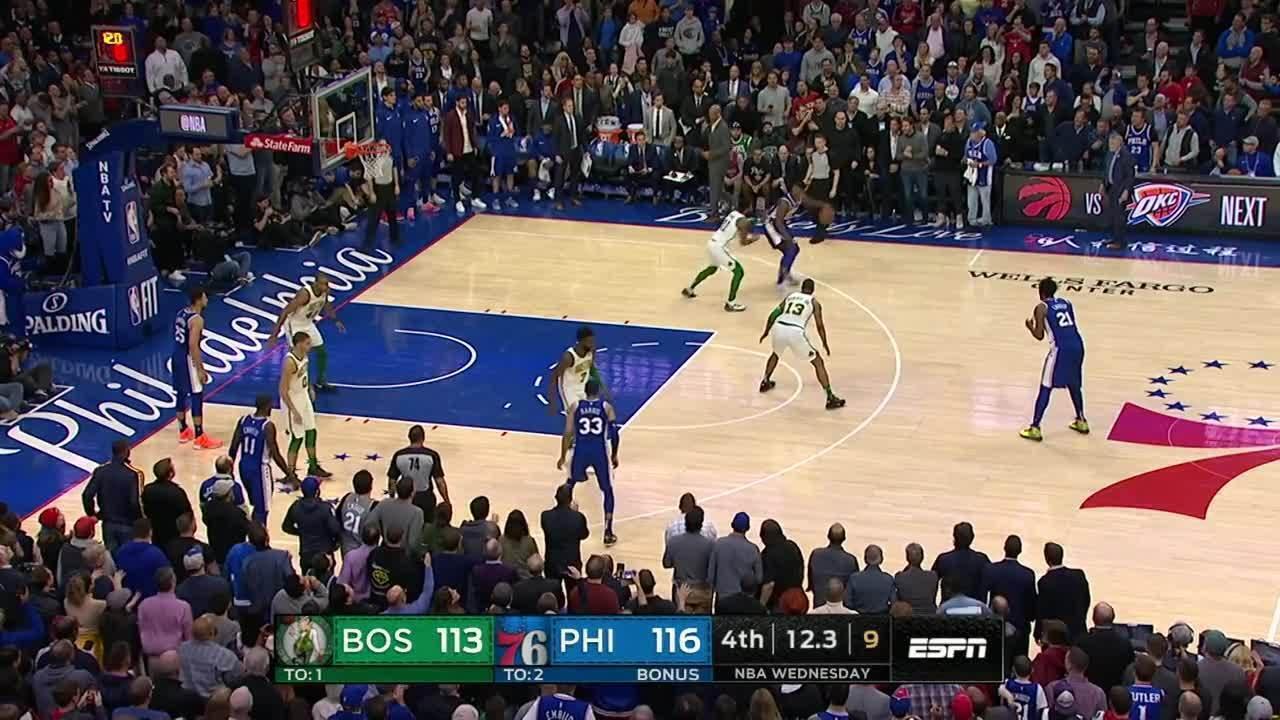 Melhores momentos: Philadelphia 76ers 118 x 115 Boston Celtics pela NBA