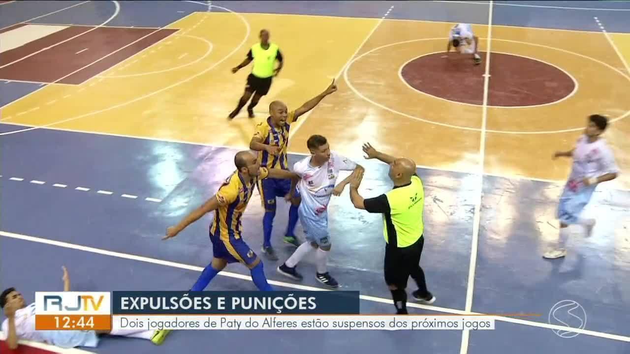 Paracambi goleia Paty do Alferes por 8 a 3 em jogo com polêmicas