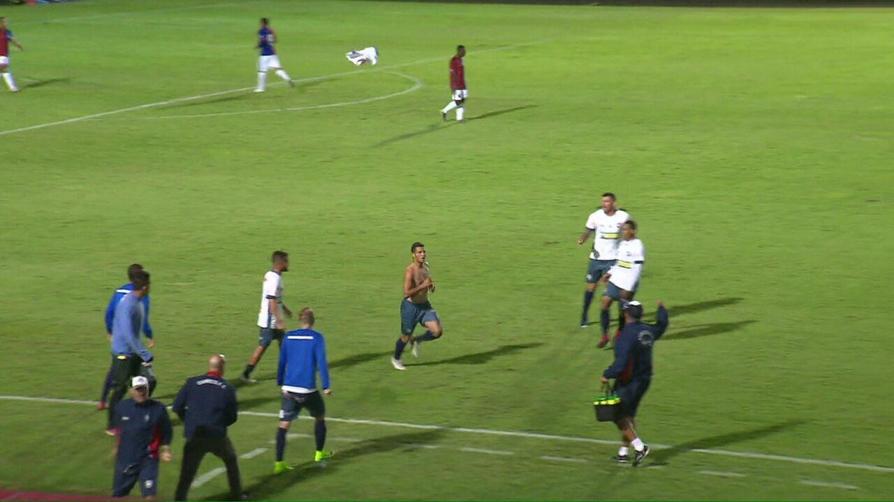 Veja os gols de Paraná 1 x 2 Cianorte pela terceira rodada do Paranaense