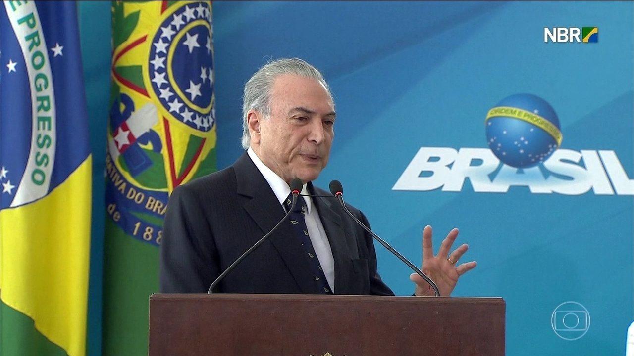 Michel Temer está na carceragem da Polícia Federal no Rio de Janeiro