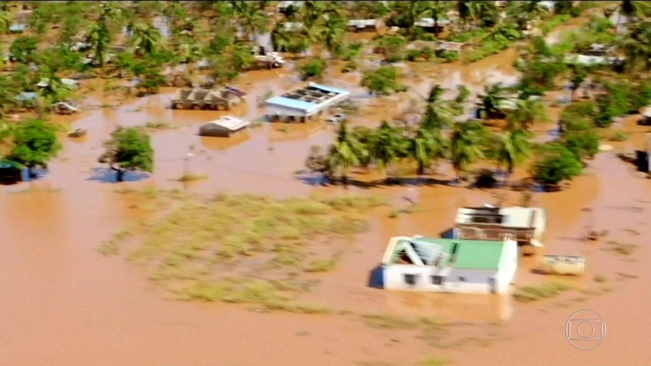 Cerca de 200 mil pessoas estão desaparecidas depois de ciclone na África