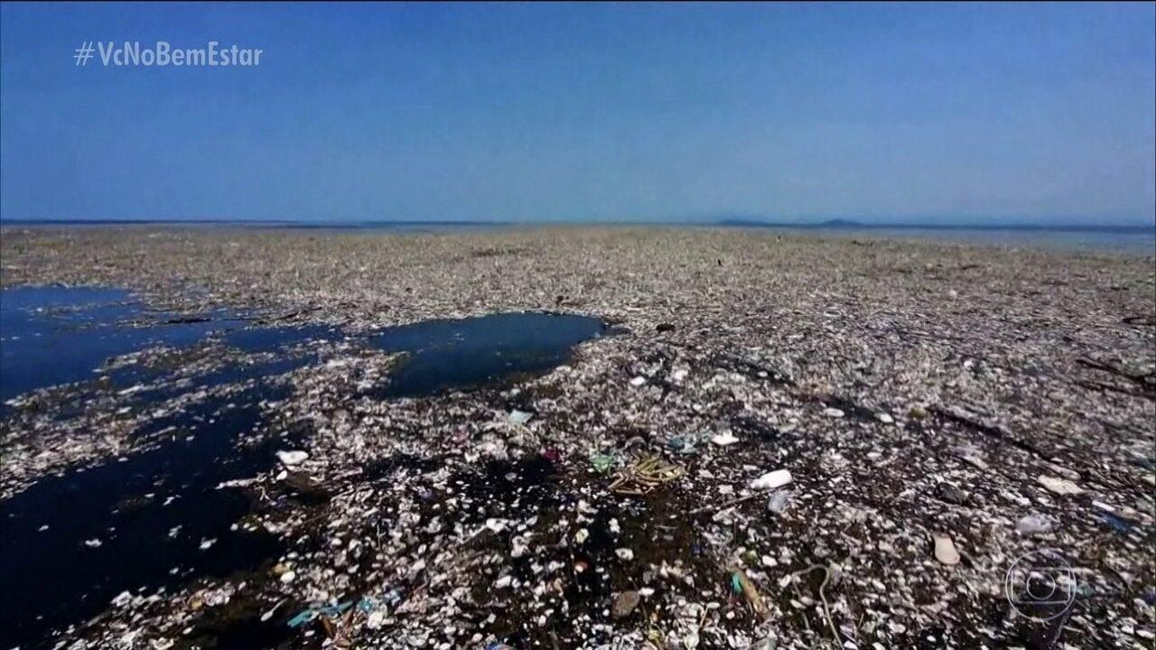 Brasil é o 4º país do mundo que mais produz lixo plástico