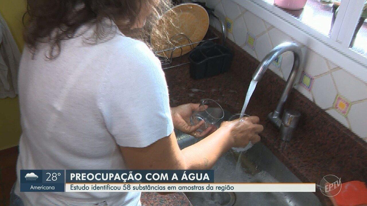 Estudo da Unicamp analisa dados sobre tratamento de água na região