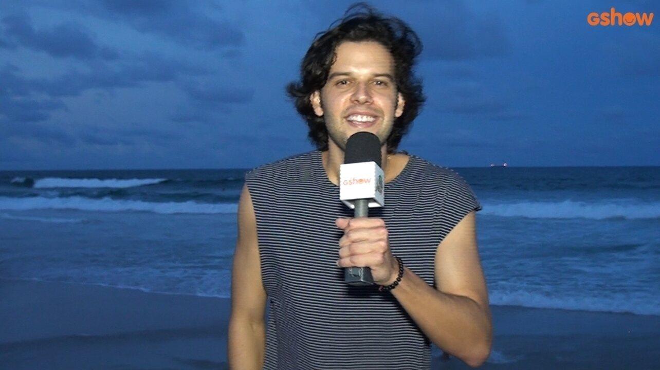 Davi Cartaxo prepara lual no clima de Positividade (Imagens: Waltinho Santos / Edição: Yuri Melo)