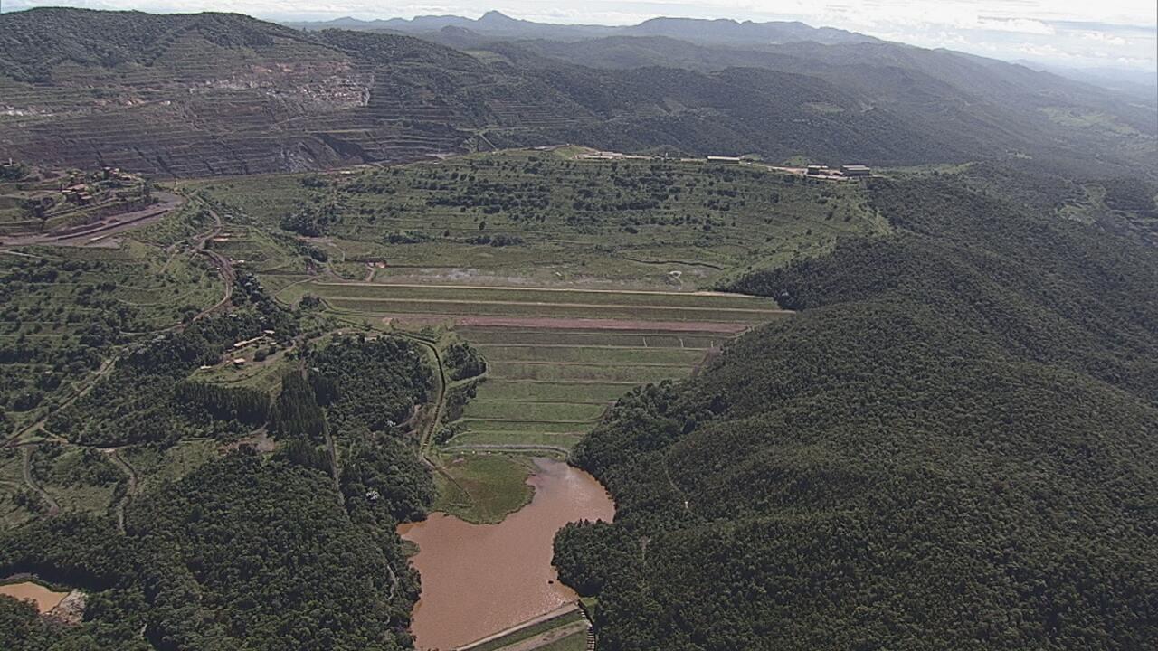 Barragem da Vale está em alerta máximo para risco de rompimento