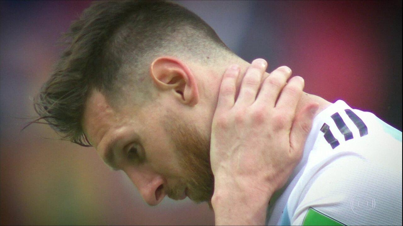 Nem Messi salva a Argentina contra a Venezuela