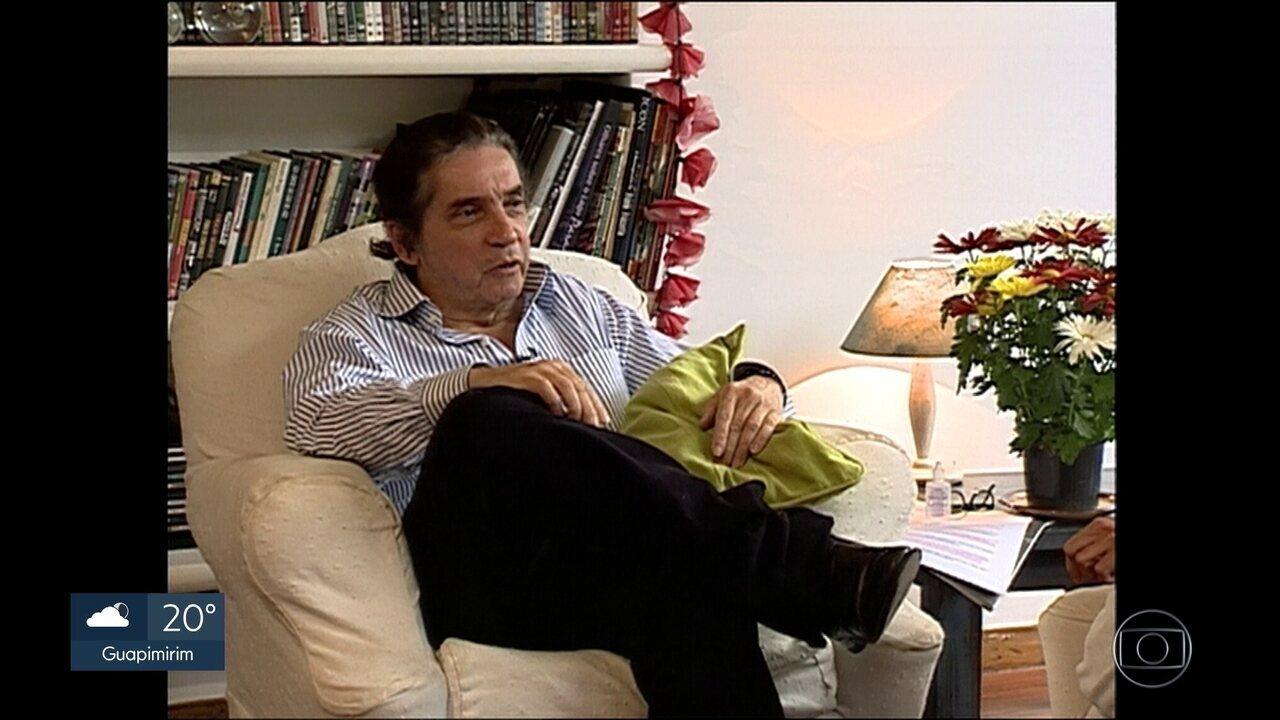 Morre no Rio ator, autor e diretor Domingos Oliveira