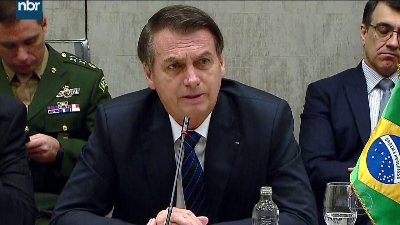 Bolsonaro defende reforma da Previdência, mas sem 'velha política'