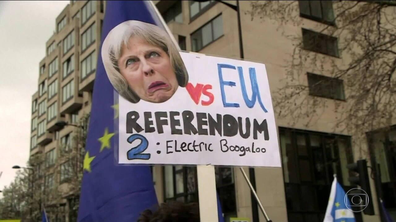 Ato pela permanência do Reino Unido na UE atrai 1 milhão em Londres