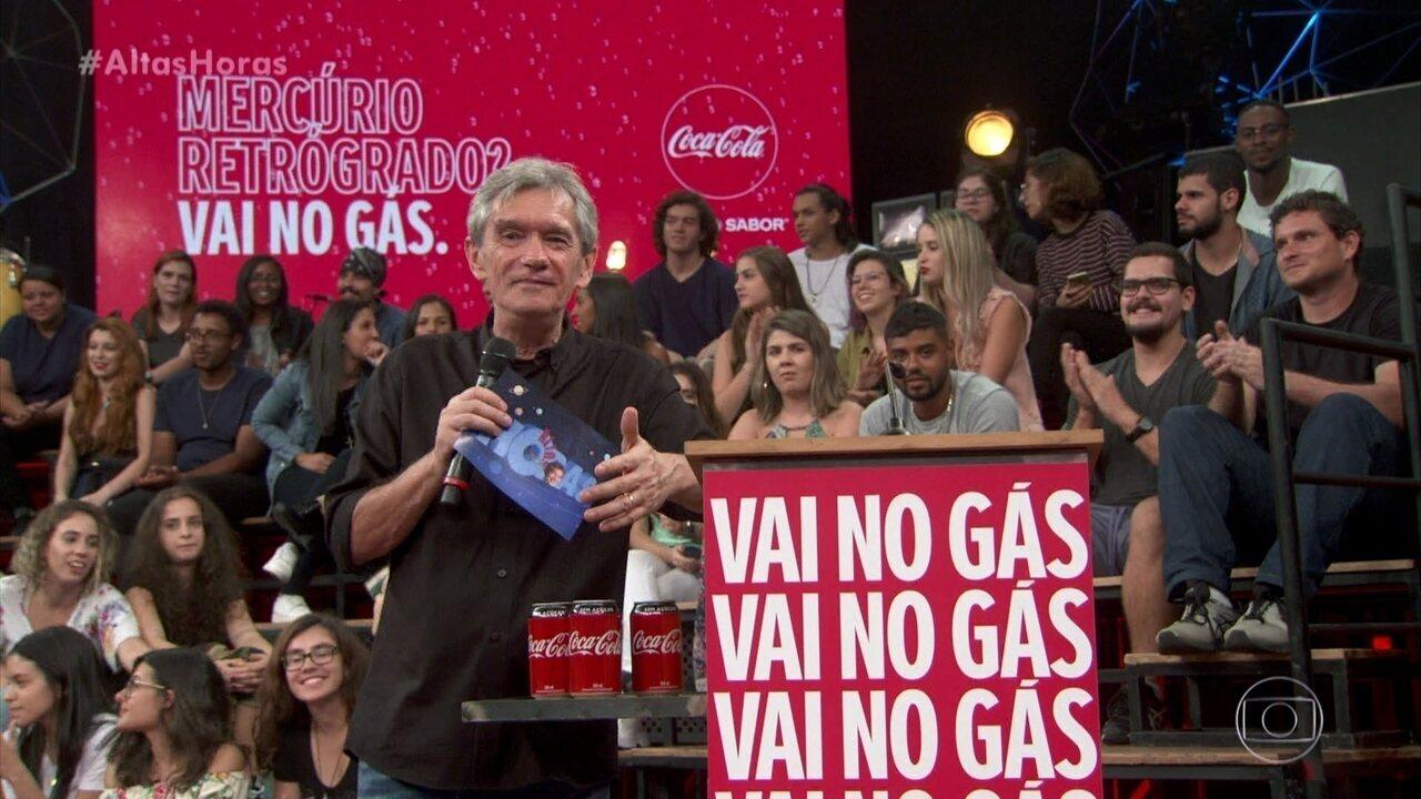 Altas Horas e Coca Cola falam sobre 'Mercúrio Retrógrado'