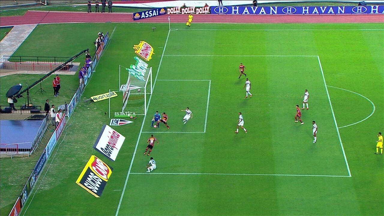 Arbitragem anula gol do Ituano contra o São Paulo por impedimento