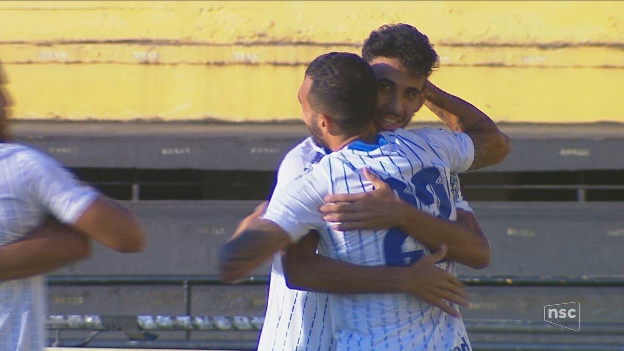 Os gols de Criciúma 0 x 2 Avaí