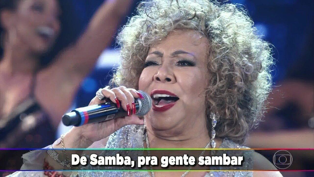 Alcione canta 'Não Deixe o Samba Morrer'