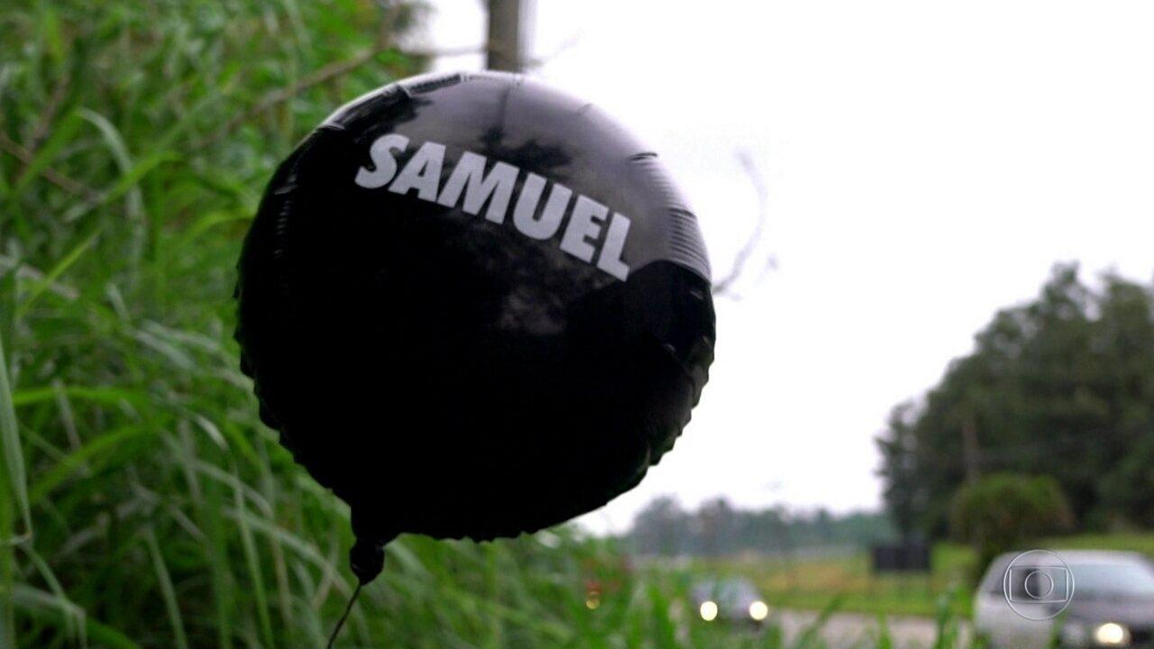 Balão de homenagem do Corinthians a vítimas de tragédia em escola vai parar em Suzano