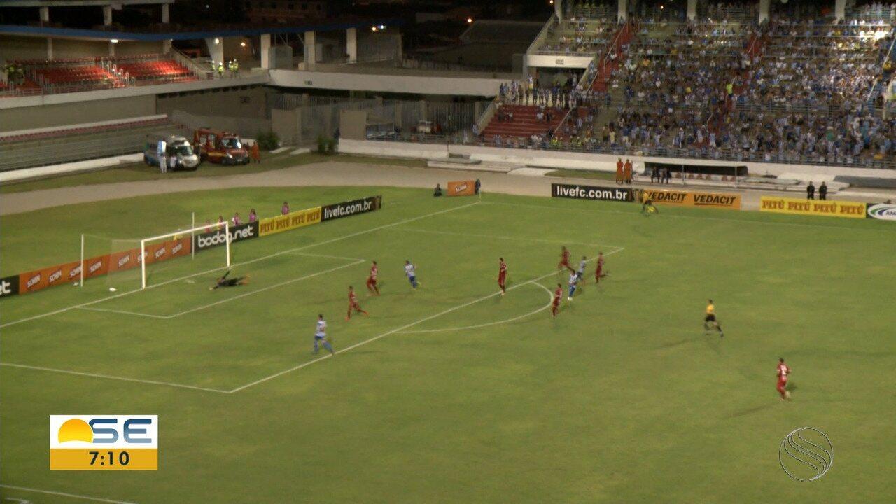 No Rei Pelé, Sergipe é derrotado pelo CSA; assista aos gols!