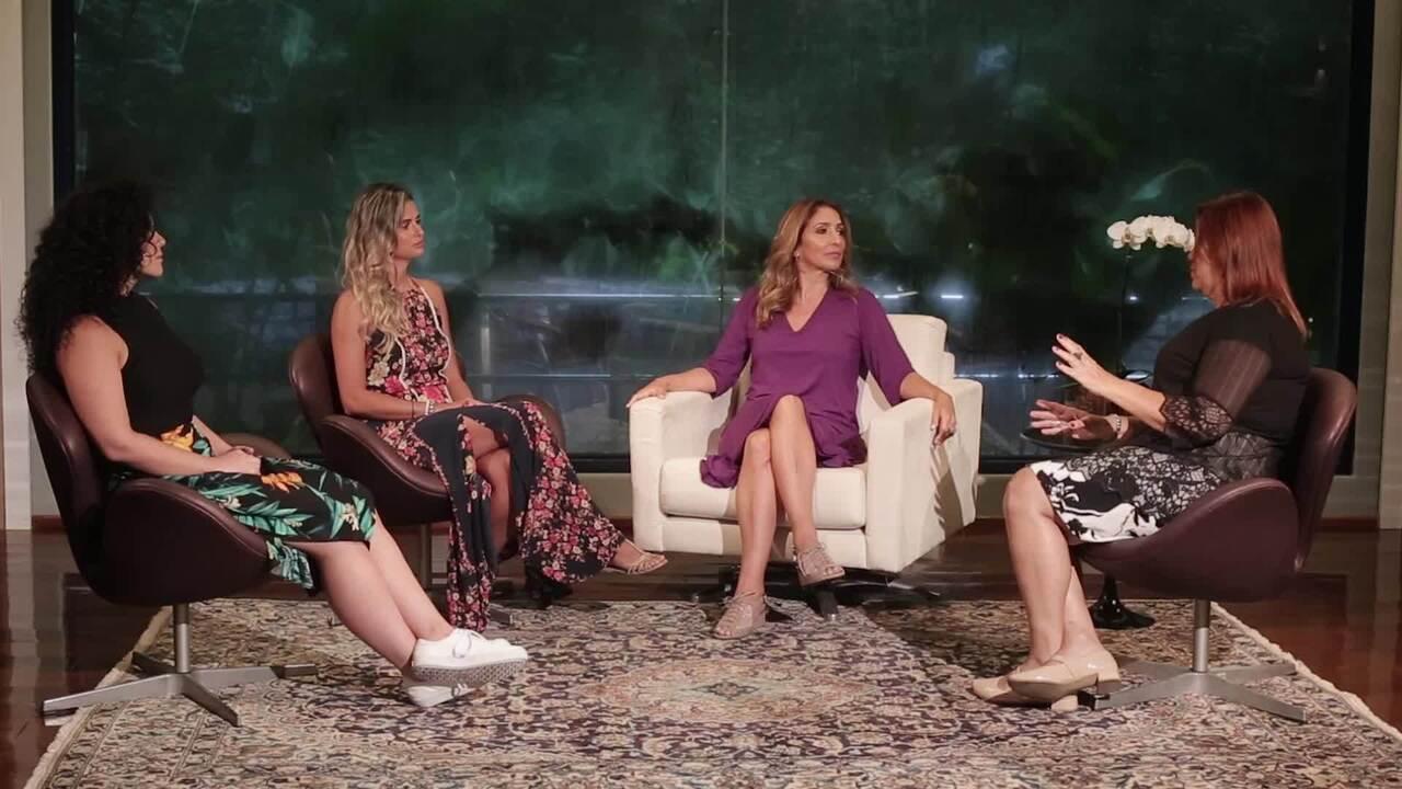 Flávia Garrafa conversa com três convidadas sobre o tema
