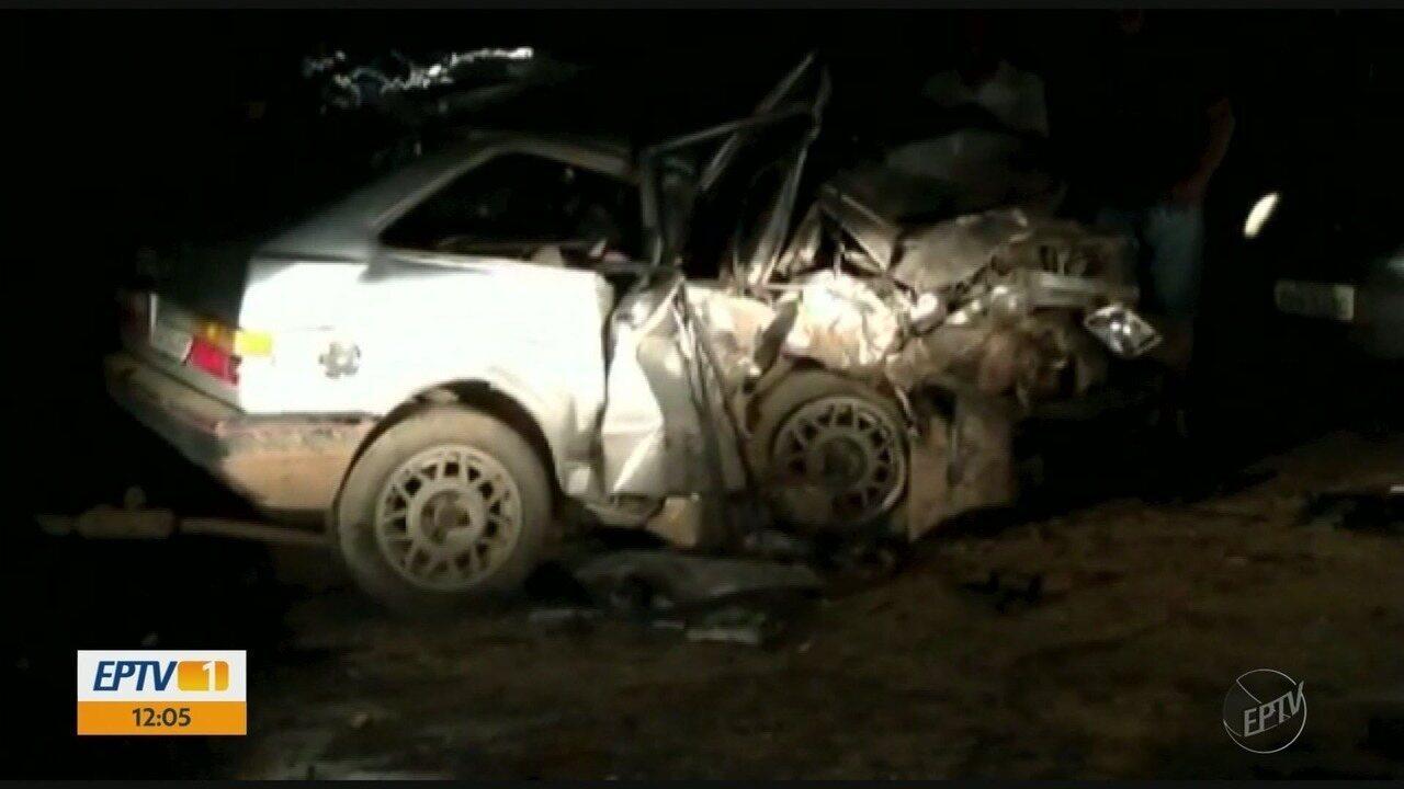 Três pessoas morrem em acidente com motorista embriagado na BR-459