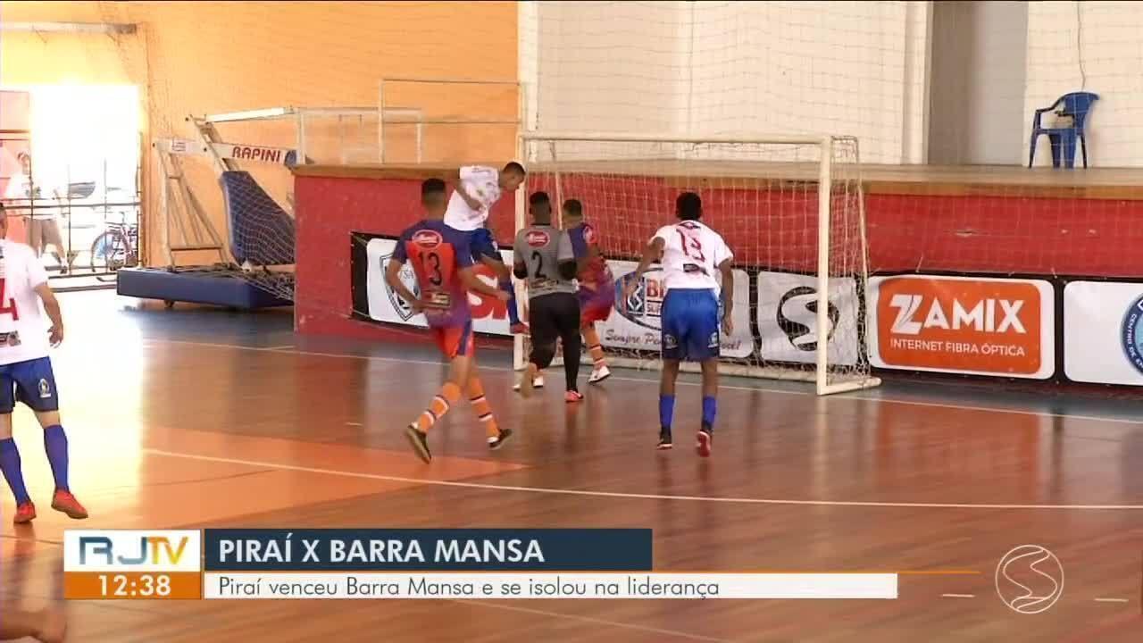 Copa Rio Sul de Futsal: Piraí vence Barra Mansa e se isola na liderança