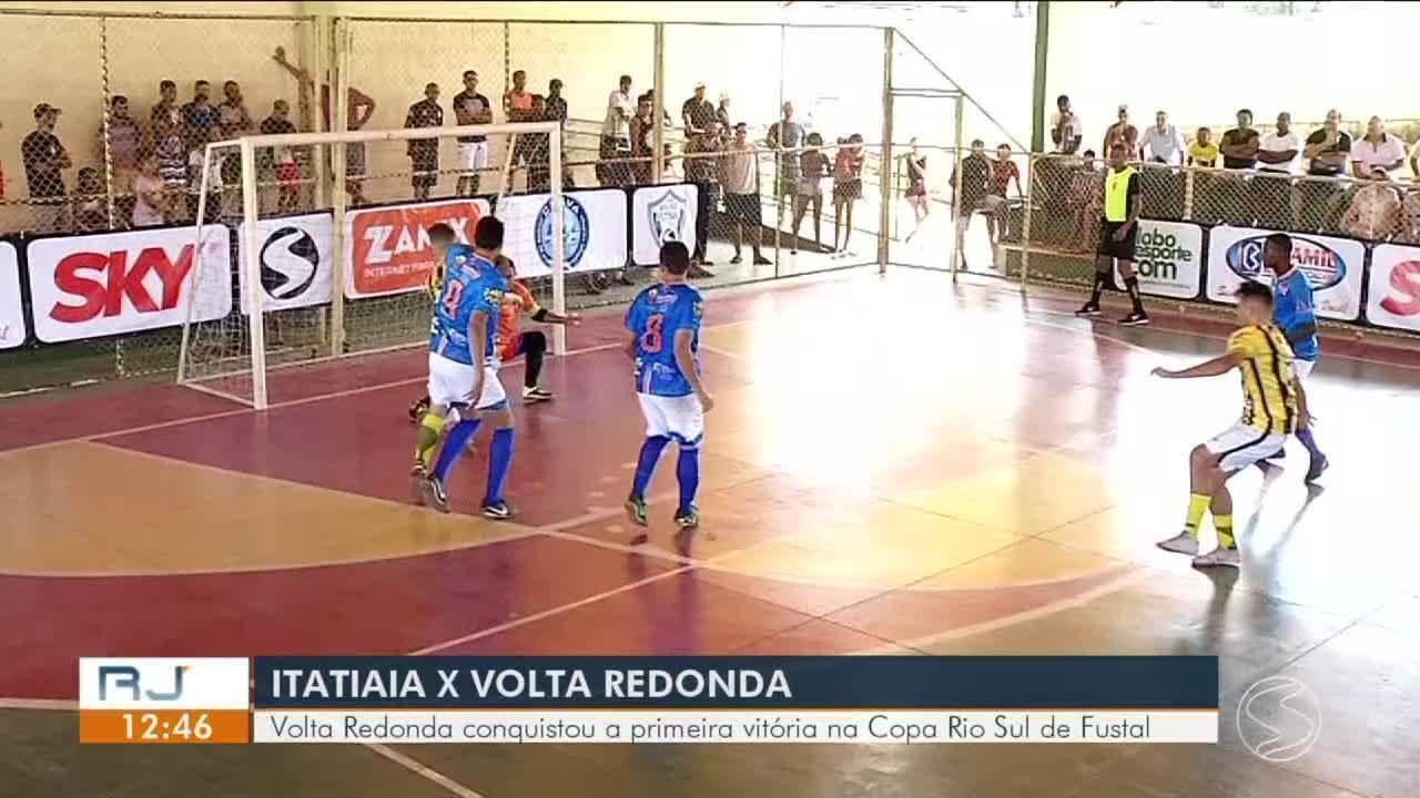 Copa Rio Sul de Futsal: Volta Redonda vence Itatiaia na terceira rodada do grupo C