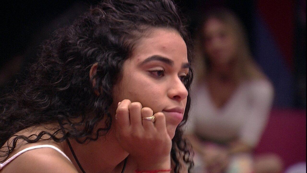 Elana lembra de discussão com Gabriela: 'A coisa pior que eu fiz'