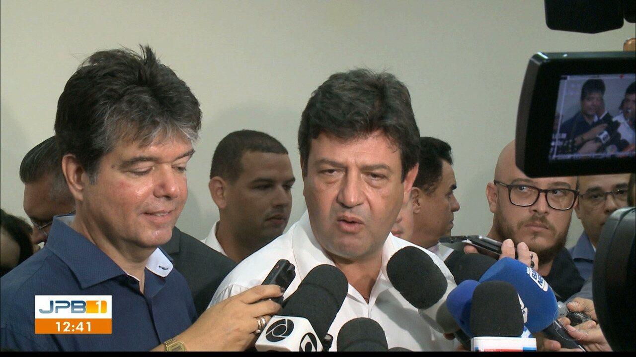 Ministro da Saúde libera recursos para Hospital Napoleão Laureano, em João Pessoa