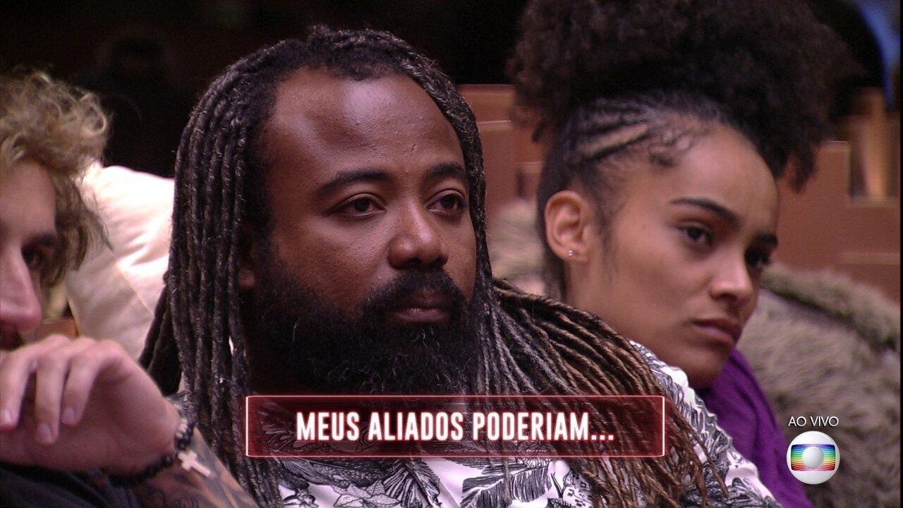 Jogo da Discórdia: Paula e Carolina preferiam que Rodrigo estivesse no Paredão