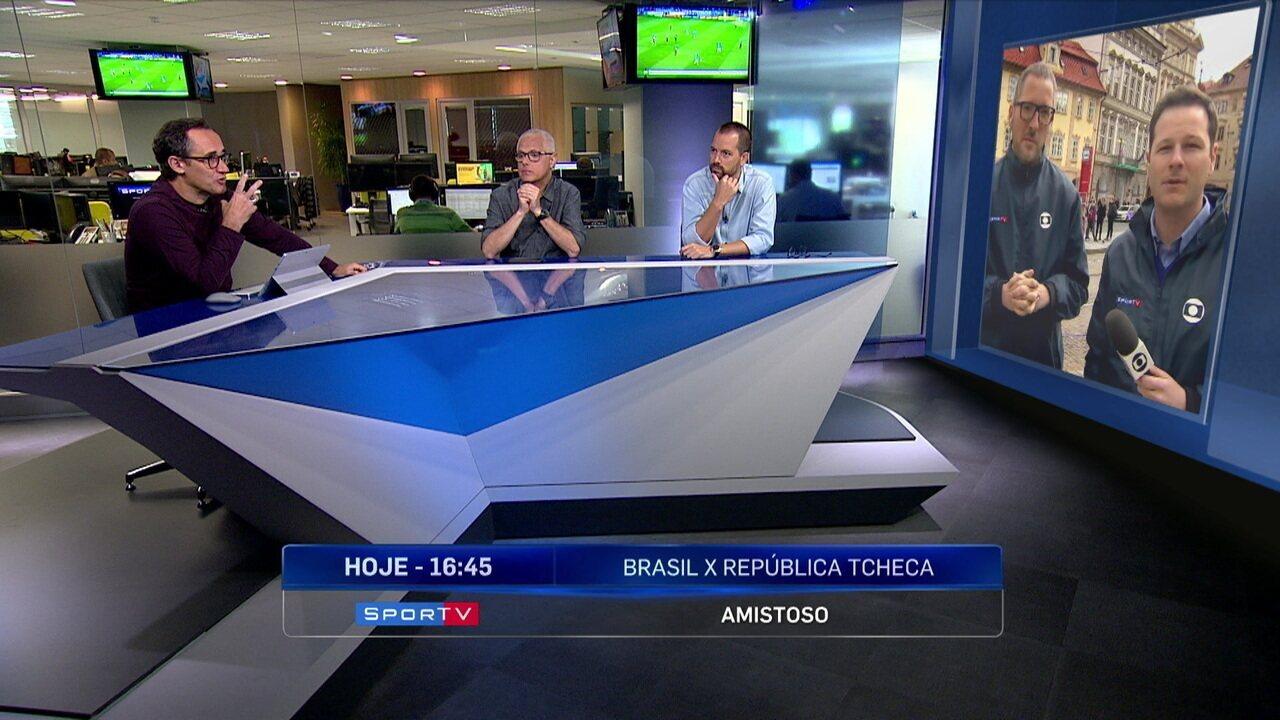 f952c8a2ee577 Redação SporTV discute momento da Seleção Brasileira antes de amistoso