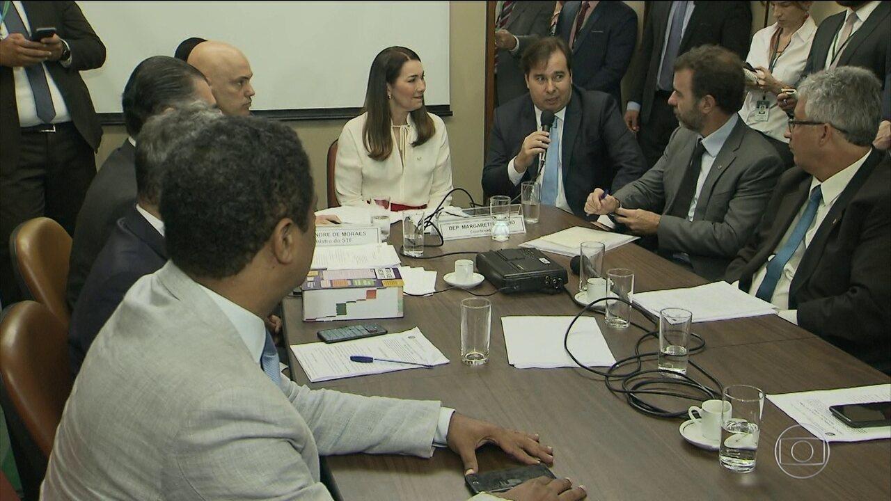 Grupo de trabalho que analisa pacote anticrime na Câmara lista prioridades